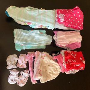 New born girl bundle